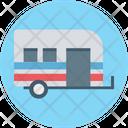 V Caravan Convoy Transport Icon