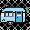 Mcaravan Caravan Camping Home Icon