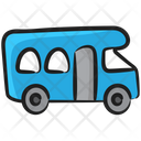 Wagon Transport Campervan Icon