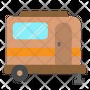 Caravan Camping Travel Icon