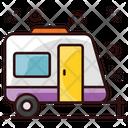 Caravan Convoy Living Van Icon