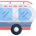 Caravan Transportation Travel Icon