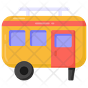 Vanity Van Transport Caravan Icon
