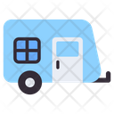 Vanity Van Transport Camper Van Icon