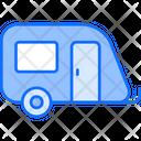 Caravan Travel Transport Icon