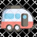 Caravan Vacation Travel Icon