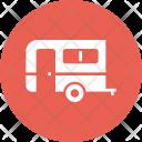 Caravan Camping Bus Icon
