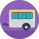 Caravan Traveling Woods Icon