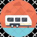 Caravan Camper Icon