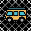 Caravan Car Camper Van Icon