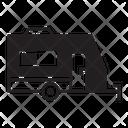Recreational Vehicle Rv Transport Icon