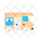 Van Rv Caravan Icon