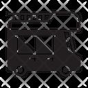Recreational Vehicle Transport Motorhome Icon