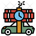 Carbomb Bomb Car Icon