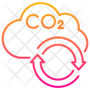 Carbon Cycle Icon