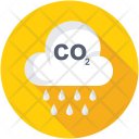 Carbon Dioxide Emission Icon