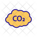 Environmental Pollution Carbon Icon