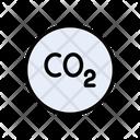 Co Carbondioxide Gas Icon