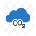 Co Cloud Disaster Icon