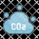 Co 2 Environment Green Icon