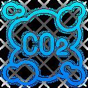 Carbon Dioxide Pollution Carbon Icon