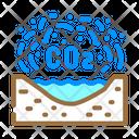 Carbon Dioxide Co 2 Pollution Icon