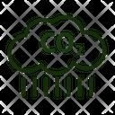 Carbondioxide Icon