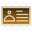 Card Social Messaging Icon