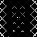 Card Cut Away Id Icon