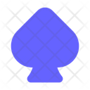 Card Playing Card Sign Spade Sign Icon
