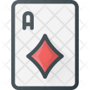 Card Diamond Casino Icon