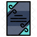 Card Pasteboard Plan Icon