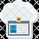 Card Id Cloud Icon