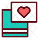 Love Card Letter Icon
