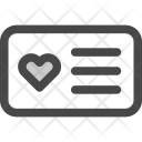 Card Favorite Id Icon
