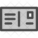 Card Greetings Letter Icon