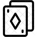 Diamond Card Casino Icon