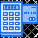 Card Terminal Code Icon