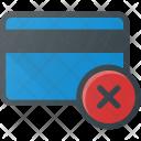 Card Bank Error Icon