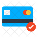 Card Accepted Verified Card Approved Card Icon