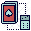 Card And Dice Icon