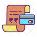 Minvoice Payment Card Bill Payment Card Bill Icon