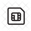 Card chip Icon