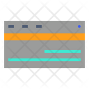 Card Stationery Credit Icon