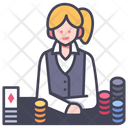 Gambling Game Casino Icon
