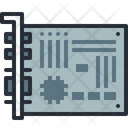 Card Device Motherboard Icon