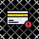 Error Pay Warning Icon