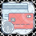 Card Fingerprint Icon