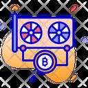 Card For Mining Crypto Mining Card Gpu Mining Icon