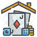 Card Game Player Gaming Icon